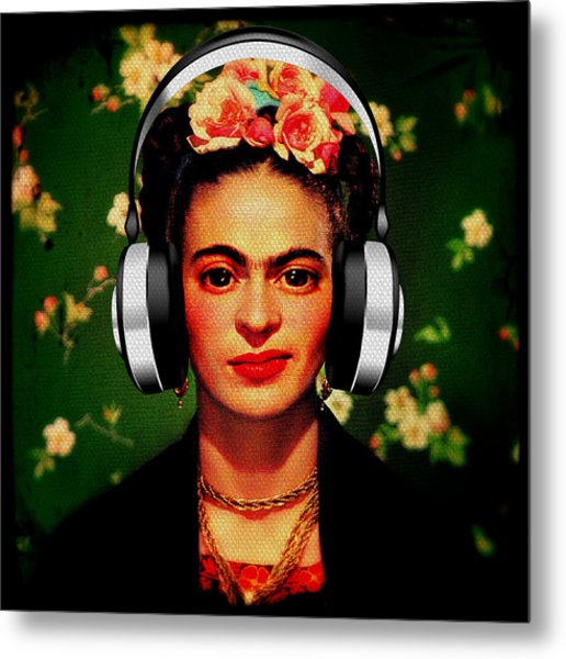 Frida Jams Metal Print