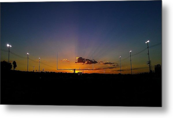 Friday Night Lights Metal Print