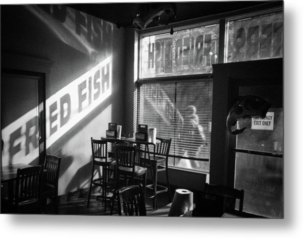 Fried Fish Metal Print by William Spangler