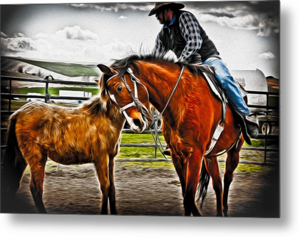 Friends Metal Print by Denise Teague