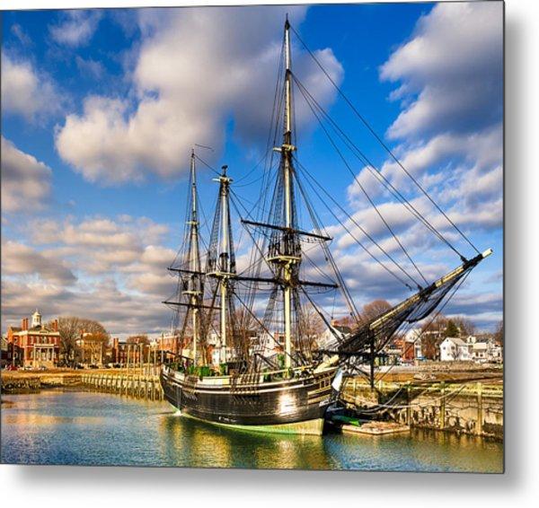 Friendship Of Salem At Harbor Metal Print