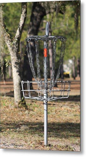 Frisbee Golf Metal Print