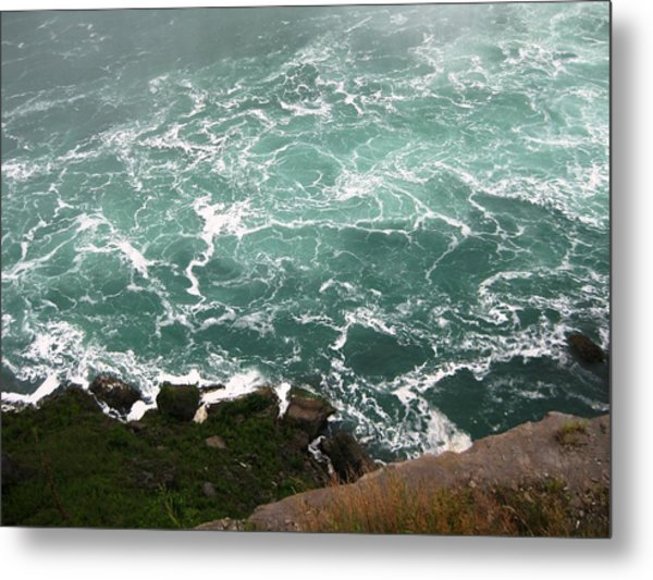 From Above Metal Print by Dervent Wiltshire