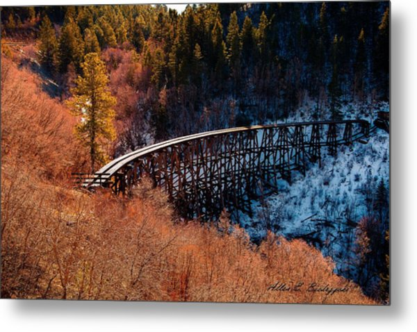 From Fire To Ice Metal Print