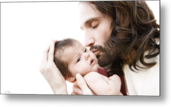 From His Arms To Ours Metal Print