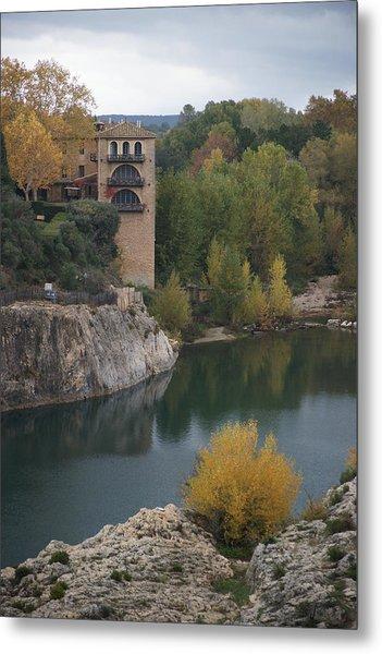 From Pont Du Gard Metal Print