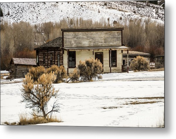 From Saloon To Store Front And Home Metal Print