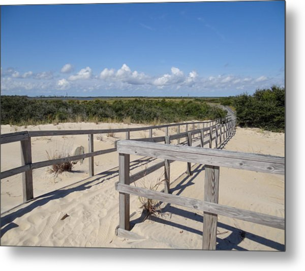 From The Dunes To The Marsh Metal Print