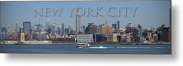 From The Harbor Metal Print by Thomas Fouch