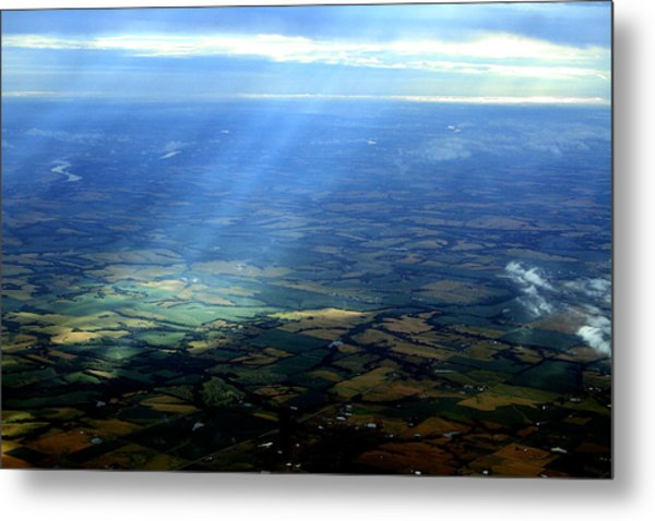 From The Sky 1 Metal Print by Maxwell Amaro