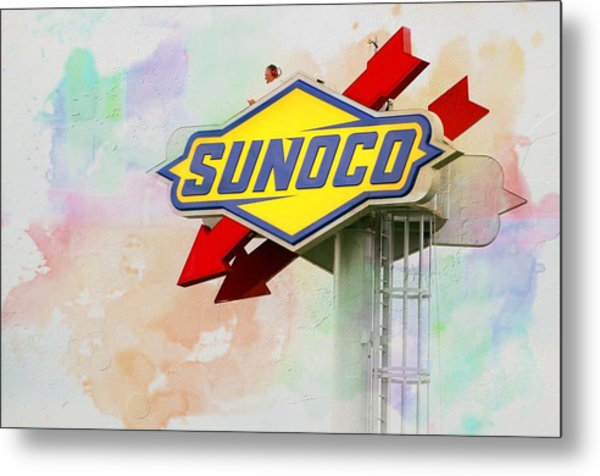 From The Sunoco Roost Metal Print