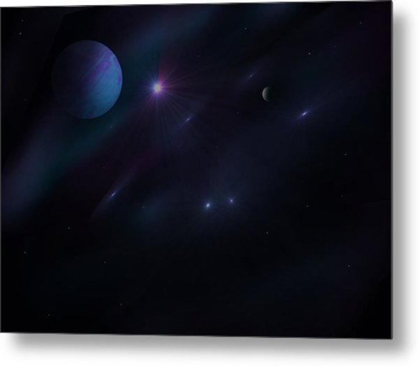 From Up Above Metal Print by Ricky Haug