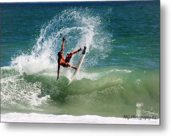 Front Side Air Metal Print