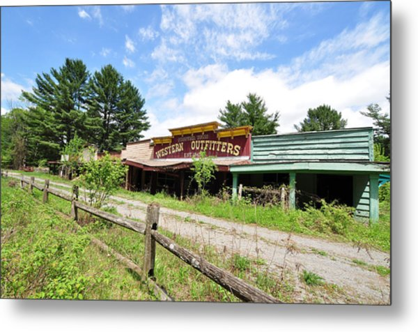 Frontier Town North Hudson Ny Metal Print
