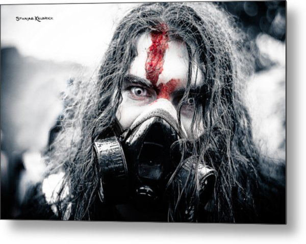 Frozen Blood Metal Print