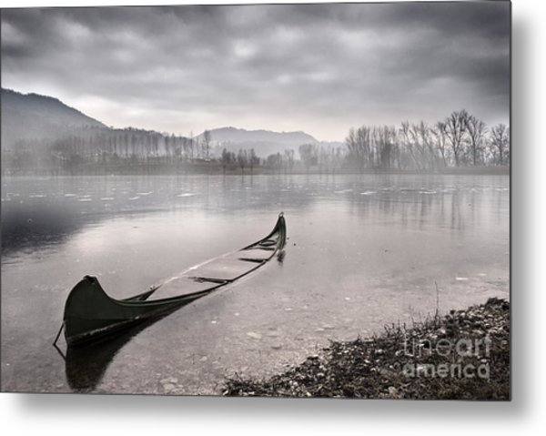 Frozen Day Metal Print