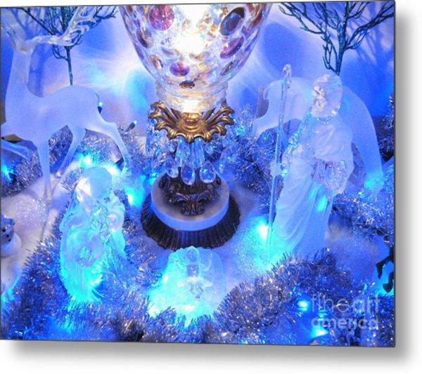 Frozen Nativity 2 Metal Print