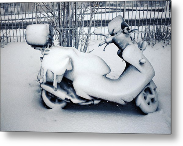 Frozen Ride Metal Print