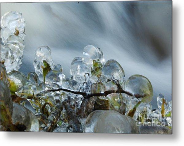 Frozen Wanderland I Metal Print