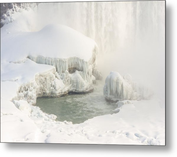 Frozen Wonders Metal Print