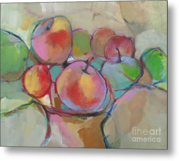 Fruit Bowl #5 Metal Print