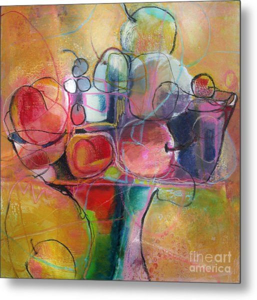 Fruit Bowl No.1 Metal Print