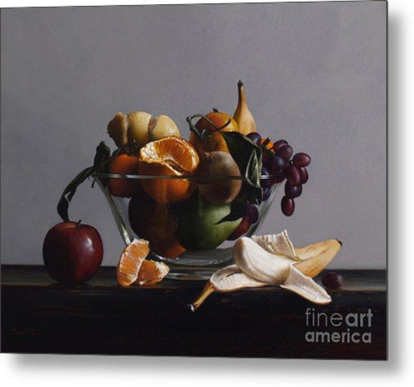 Fruit Bowl No.2 Metal Print