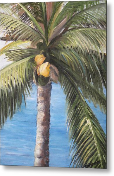 Fruit Of The Palm Metal Print