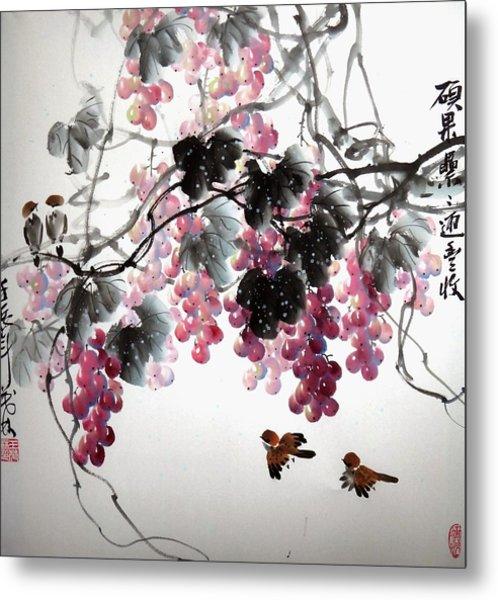 Fruitfull Size 3 Metal Print by Mao Lin Wang