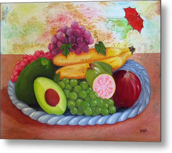 Fruits Delight Metal Print