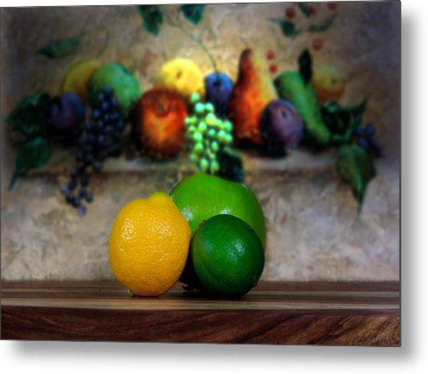 Fruits Galore Metal Print by Cecil Fuselier