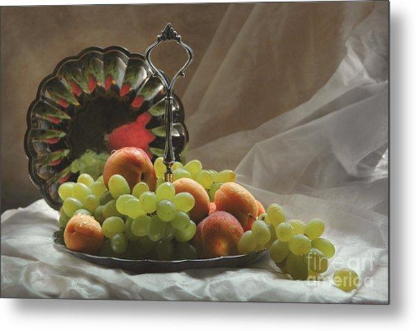 Fruits Metal Print by Irina No