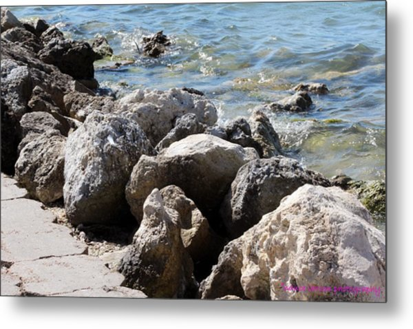 Ft. Pierce Inlet Metal Print