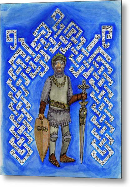 Full Armor Of Yhwh Man Metal Print
