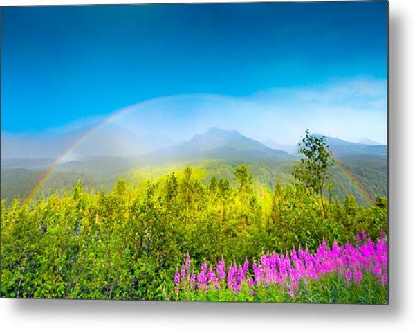 Full Spectrum Rainbow Metal Print