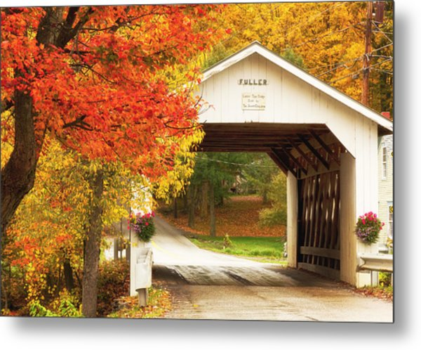 Fuller Covered Bridge Metal Print
