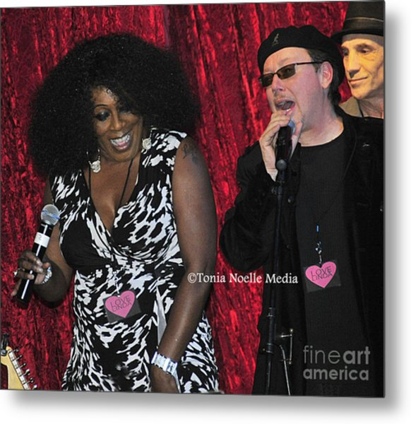 Funky Fun With Ladya White And Lloyd Jones Metal Print