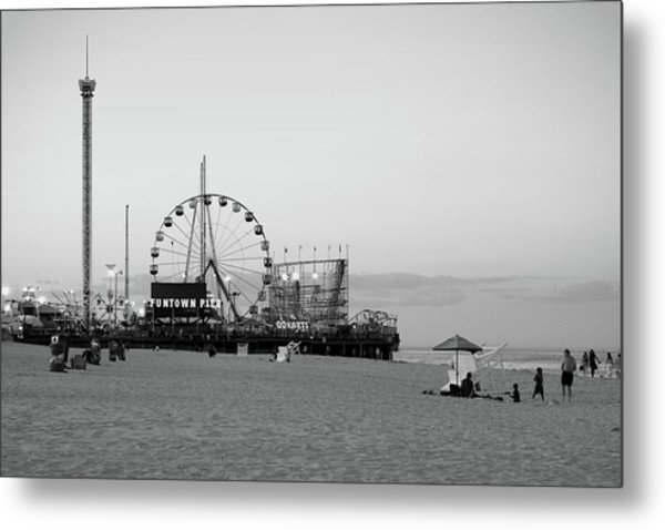 Funtown Pier - Jersey Shore Metal Print
