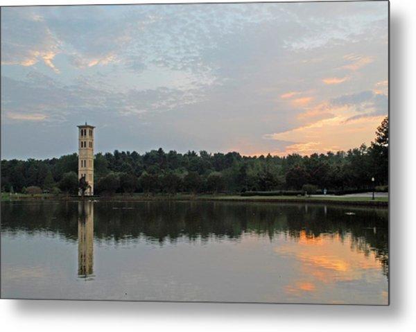 Furman University Bell Tower  Greenville Sc Metal Print
