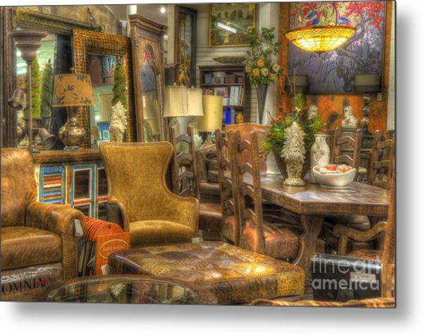 Furniture Corner Metal Print
