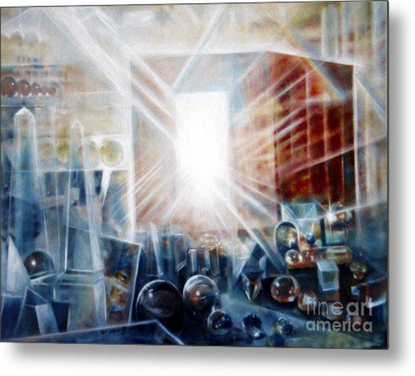 Future City #5 Metal Print by Yael Avi-Yonah
