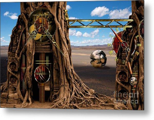 Gagilus Time Dream Metal Print