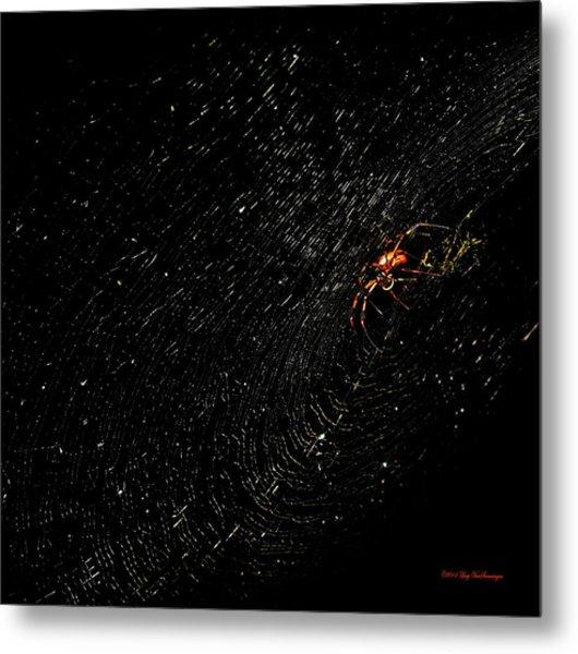 Galaxy Web Metal Print