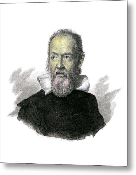 Galileo Galilei Metal Print by Detlev Van Ravenswaay