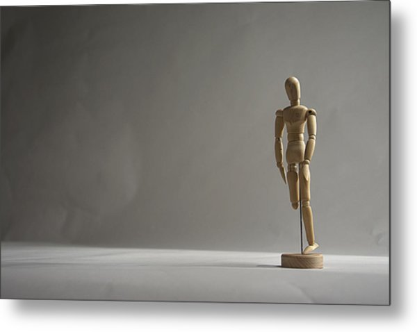 Gallant Mannequin II Metal Print by Julian Riojas