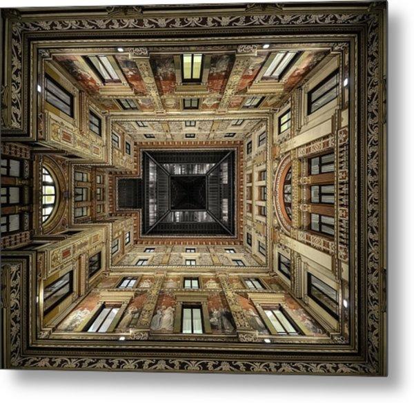 Galleria Sciarra Metal Print