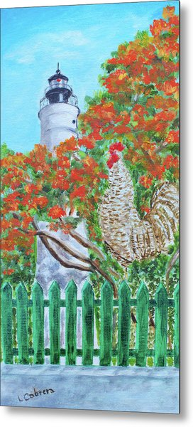 Gallo Pinto Rooster Metal Print
