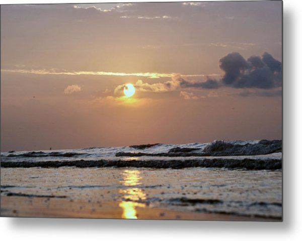 Galveston Island - Texas Metal Print by Michael Davis