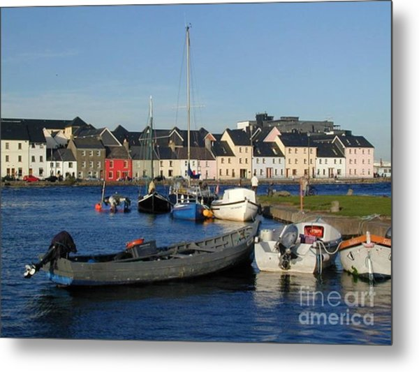 Galway Harbour At The Claddagh Metal Print