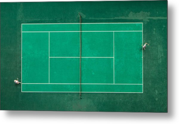 Game! Set! Match! Metal Print